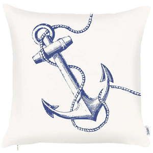 Obliečka na vankúš Apolena Sailors Anchor, 43 × 43 cm vyobraziť
