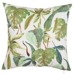 Obliečka na vankúš Apolena Leafy Paradiso, 43 × 43 cm vyobraziť