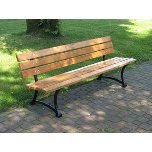 Parková lavice - FSC ROJAPLAST vyobraziť