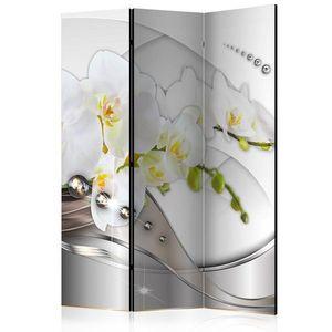 Paraván Pearl Dance of Orchids Dekorhome 135x172 cm (3-dielny) vyobraziť