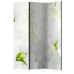 Paraván Jasmine Dekorhome 135x172 cm (3-dielny) vyobraziť