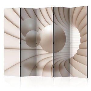 Paraván Balls in the Tunnel Dekorhome 225x172 cm (5-dielny) vyobraziť