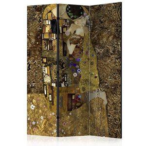 Paraván Golden Kiss Dekorhome 135x172 cm (3-dielny) vyobraziť