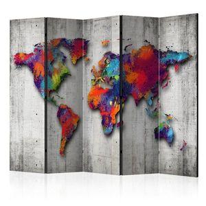 Paraván Concrete World Dekorhome vyobraziť