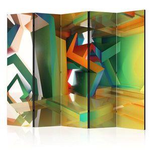 Paraván Colourful Space Dekorhome vyobraziť