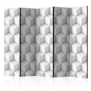 Paraván Cube Dekorhome 225x172 cm (5-dielny) vyobraziť