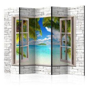 Paraván Dream Island Dekorhome 225x172 cm (5-dielny) vyobraziť