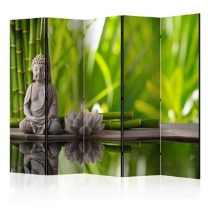 Paraván Meditation Dekorhome 225x172 cm (5-dielny) vyobraziť