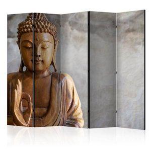 Paraván Buddha Dekorhome 225x172 cm (5-dielny) vyobraziť