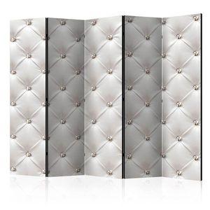 Paraván White Elegance Dekorhome 225x172 cm (5-dielny) vyobraziť