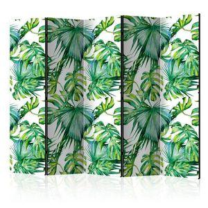 Paraván Jungle Leaves Dekorhome 225x172 cm (5-dielny) vyobraziť
