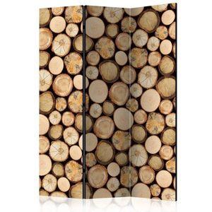 Paraván In sawmill Dekorhome 135x172 cm (3-dielny) vyobraziť