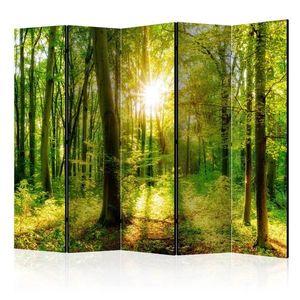 Paraván Forest Rays Dekorhome 225x172 cm (5-dielny) vyobraziť