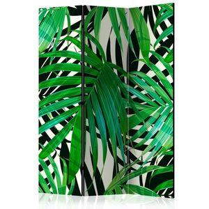 Paraván Tropical Leaves Dekorhome 135x172 cm (3-dielny) vyobraziť
