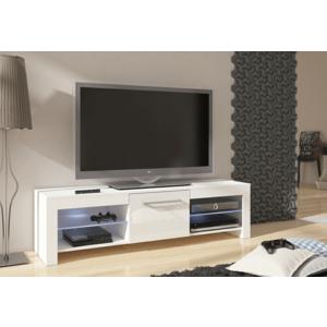 WIP TV STOLÍK FLEX Farba: biely lesk / biela vyobraziť