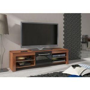 WIP TV STOLÍK FLEX Farba: slivka/čierny lesk vyobraziť