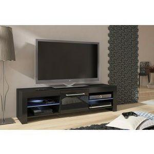 WIP TV STOLÍK FLEX Farba: Čierna/čierny lesk vyobraziť