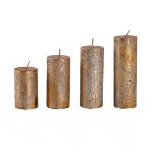 Provence Rustikálna adventná sviečka ø4cm PROVENCE 4 velikosti medená vyobraziť