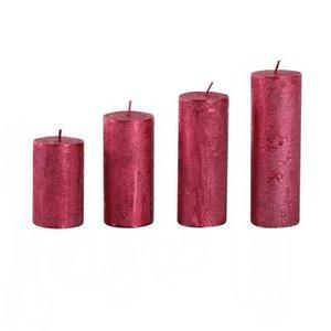 Provence Rustikálna adventná sviečka ø4cm PROVENCE 4 velikosti červená vyobraziť