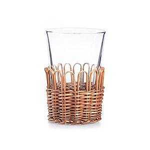 Košíčky prútené na poháre vyobraziť
