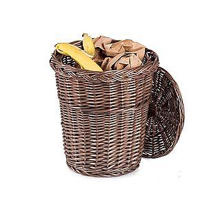 Odpadkový kôš prútený Provence Limpar V. vyobraziť
