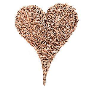 Dekoračné prútené srdce Herz III. vyobraziť