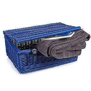Kufor prútený modrý Putnik III. vyobraziť