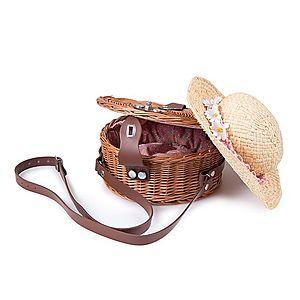 Proutěná kabelka Bolso III. vyobraziť