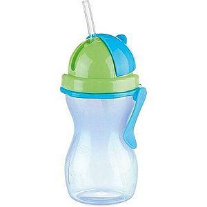 TESCOMA detská fľaša so slamkou BAMBINI 300 ml, zelená, modrá vyobraziť