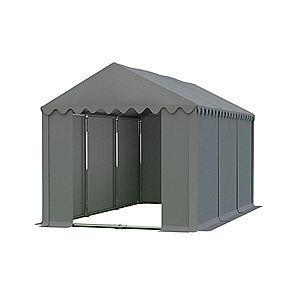 Skladový stan 4x6m PROFI Sivá vyobraziť
