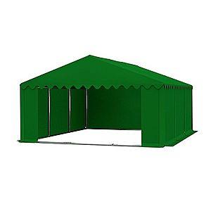 Skladový stan 5x6m zelená PREMIUM vyobraziť