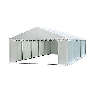 Skladový stan 5x10m biela PREMIUM vyobraziť