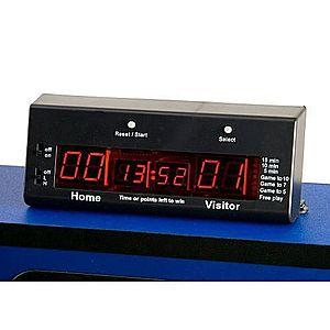 Elektronické počítadlo pre stolné futbaly 21 x 7, 4 x 5, 5 cm vyobraziť