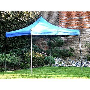Záhradný párty stan DELUXE nožnicový - 3 x 3 m modrá vyobraziť