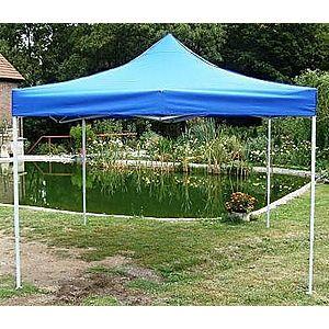 Záhradný párty stan CLASSIC nožnicový - 3 x 3 m modrý vyobraziť
