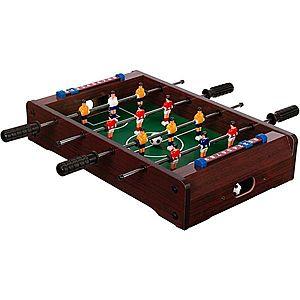 Mini stolný futbal 51 x 31 x 8 cm - tmavý vyobraziť
