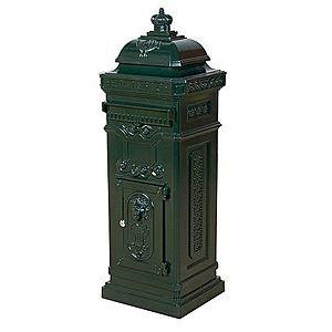 Poštová schránka antik - zelená vyobraziť