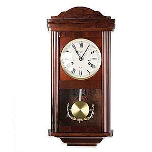 Nástenné kyvadlové hodiny THESEUS mahagón - 60 cm vyobraziť