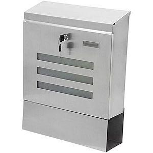 Poštová schránka nerezová vyobraziť