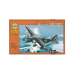 Model Bloch MB.200 31, 2x22, 3cm v krabici 35x22x5cm vyobraziť