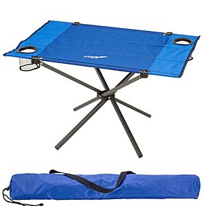 Skladací kempingový stôl, 80 x 50 cm vyobraziť