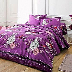 Posteľná bielizeň Gardénia, polycoton fialová obliečka na vank. 65x65cm+lem vyobraziť
