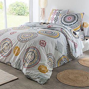 Obliečky Wata, bavlna sivá obliečka na vank. 65x65cm vyobraziť