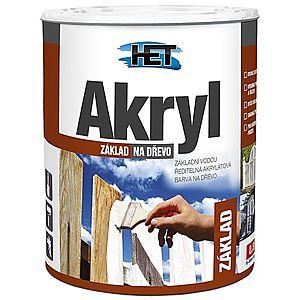 HET Akryl základ na drevo Biely, 12kg vyobraziť