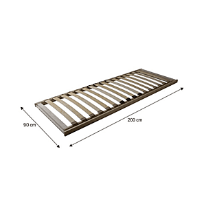 Výklopný lamelový rošt BASIC FLEX FRONT Tempo Kondela 90 x 200 cm vyobraziť