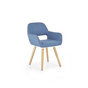 Jedálenská stolička K283 Halmar Modrá vyobraziť