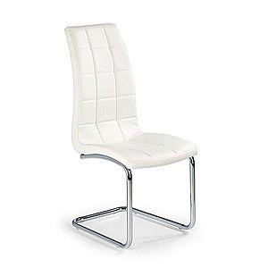 Jedálenská stolička K147 Halmar Biela vyobraziť