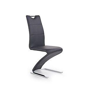 Jedálenská stolička K291 Halmar Čierna vyobraziť
