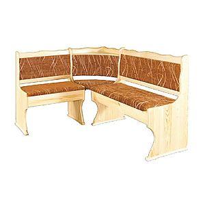 NR111 Čalúnená rohová lavica vyobraziť