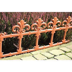 Záhradný plôtik Art 34 cm terakota vyobraziť
